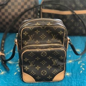 Authentic Louis Vuitton Amazon Crossbody